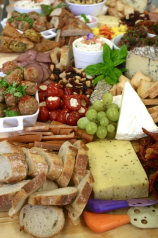 one of our grazing platters